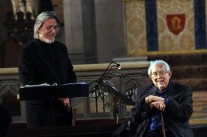 Harold Rosenbaum with Elliott Carter